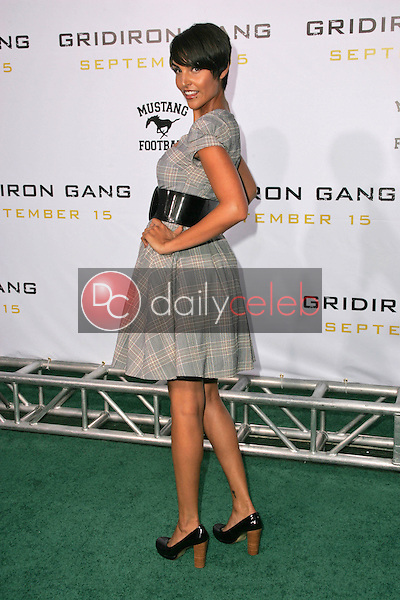 "Paula Miranda<br />at the Los Angeles Premiere of ""Gridiron Gang"". Grauman's Chinese Theatre, Hollywood, CA. 09-05-06<br />Dave Edwards/DailyCeleb.com 818-249-4998"
