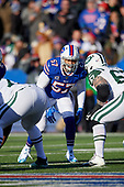 Buffalo Bills linebacker Lorenzo Alexander (57) during an NFL football game against the New York Jets, Sunday, December 9, 2018, in Orchard Park, N.Y.  (Mike Janes Photography)