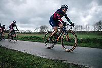 Elena Amialiusik (BLR/Canyon Sram Racing)<br /> <br /> 75th Omloop Het Nieuwsblad 2020 (BEL)<br /> Women's Elite Race <br /> Gent – Ninove: 123km<br /> <br /> ©kramon
