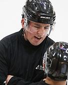 Stephen Drain - The visiting Colgate University Raiders shut out the Harvard University Crimson for a 2-0 win on Saturday, January 27, 2018, at Bright-Landry Hockey Center in Boston, Massachusetts.