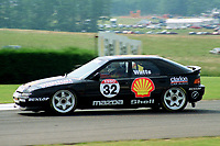 1992 British Touring Car Championship. #32 Patrick Watts (GBR). Shell Mazda Racing. Mazda 323F.