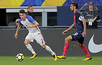 Arlington, TX - Saturday July 22, 2017:  during a 2017 Gold Cup Semifinal match between the men's national teams of the United States (USA) and Costa Rica (CRC) at AT&T stadium.