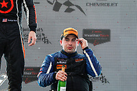 #54 JDC-Miller MotorSports, Audi RS3 LMS TCR, TCR: Michael Johnson, champagne