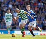 12.05.2019 Rangers v Celtic: Scott Brown and Ryan Jack