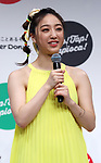 April 23, 2019, Tokyo, Japan - E-girls member Nozomi Bando, attends a promotional event for new tapioca drinks launched by donut store Mister Donut in Tokyo on Tuesday, April 23, 2019. Mister Donut will launch four flavored tapioca drinks on April 26.       (Photo by Yoshio Tsunoda/AFLO)