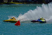 """Frame 15: Andrew Tate, H-300 """"Pennzoil"""", Donny Allen, H-14 """"Legacy 1""""       (H350 Hydro)"""