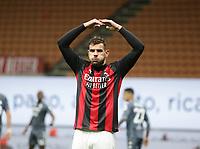 Milano 01-05 2021<br /> Stadio Giuseppe Meazza<br /> Serie A  Tim 2020/21<br /> Milan - Benevento<br /> Nella foto: Theo Hernandez esultanza                                     <br /> Antonio Saia Kines Milano