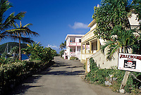 hotel, Tortola, West End, British Virgin Islands, Caribbean, BVI, Jolly Roger Inn at West End on the island of Tortola.