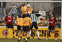07/01/2006         Copyright Pic: James Stewart.File Name : sct_jspa02_alloa_v_livingston.FRASER FORREST HEADS HHOME BBUT HIS GOAL WAS DISALLOWED....Payments to :.James Stewart Photo Agency 19 Carronlea Drive, Falkirk. FK2 8DN      Vat Reg No. 607 6932 25.Office     : +44 (0)1324 570906     .Mobile   : +44 (0)7721 416997.Fax         : +44 (0)1324 570906.E-mail  :  jim@jspa.co.uk.If you require further information then contact Jim Stewart on any of the numbers above.........