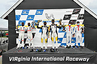 #25 BMW Team RLL BMW M8 GTE, GTLM: Connor De Phillippi, Bruno Spengler, #3 Corvette Racing Corvette C8.R, GTLM: Antonio Garcia, Jordan Taylor. #911 Porsche GT Team Porsche 911 RSR - 19, GTLM: Nick Tandy, Fred Makowiecki