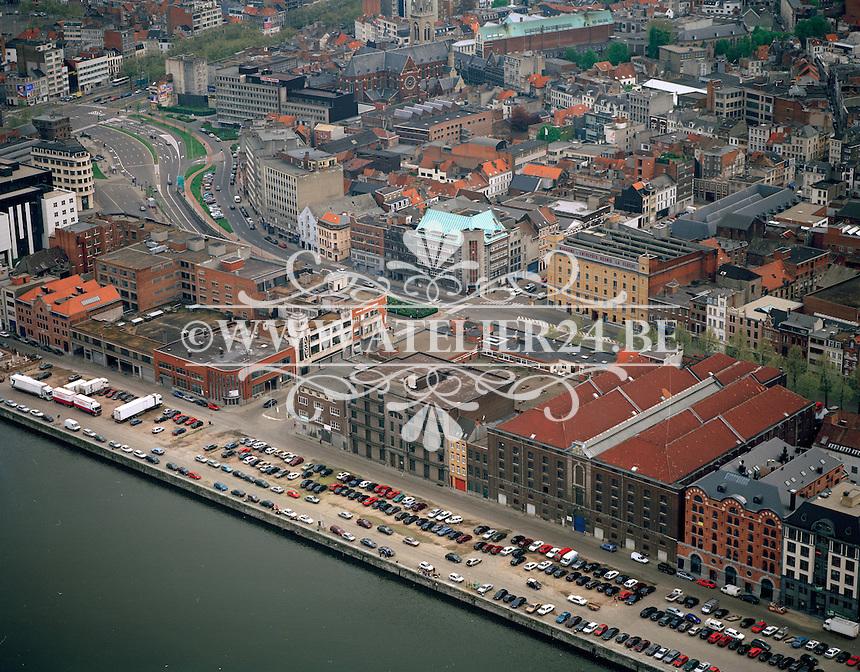 Mei 1996. Eilandje in Antwerpen.