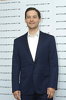 "TOBEY MAGUIRE .Photocall for ""Spider-Man 3"" held at the Hotel Excelsior, Rome, Italy..April 24th, 2007.half length blue suit jacket .CAP/CAV.©Luca Cavallari/Capital Pictures"