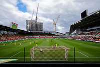 6th September 2020; Brentford Community Stadium, London, England; English Football League Cup, Carabao Cup, Football, Brentford FC versus Wycombe Wanderers; General view of Brentford Community Stadium during the 2nd half