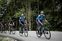 Imanol Erviti (ESP/Movistar)<br /> <br /> 73rd Critérium du Dauphiné 2021 (2.UWT)<br /> Stage 8 (Final) from La Léchère-Les-Bains to Les Gets (147km)<br /> <br /> ©kramon
