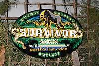 Logo for the season of Suvivor Gabon as atmosphere at the Press Line for the Survivor Gabon Finale at CBS Television City, Los Angeles, CA on December 14, 2008.©2008 Kathy Hutchins / Hutchins Photo...                .