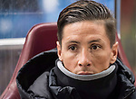 Fernando Torres of Atletico de Madrid on the bench prior to the Copa del Rey 2016-17 Quarter-final match between Atletico de Madrid and SD Eibar at the Vicente Calderón Stadium on 19 January 2017 in Madrid, Spain. Photo by Diego Gonzalez Souto / Power Sport Images