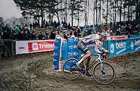 European CX Champion VAN DER POEL Mathieu (NED/Corendon-Circus) is dominant once again<br /> <br /> GP Sven Nys (BEL) 2019<br /> DVV Trofee<br /> ©kramon