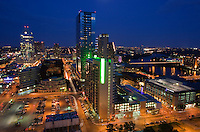 The development of new condominiums in downtown Austin has forever altered the city's skyline with expansive growth
