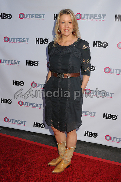 """10 July 2015 - West Hollywood, California - Linda Emond. """"Jenny's Wedding"""" World Premiere - 2015 Outfest LA Film Festival held at the DGA Theatre. Photo Credit: Byron Purvis/AdMedia"""