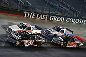 NASCAR Camping World Truck Series<br /> UNOH 200<br /> Bristol Motor Speedway, Bristol, TN USA<br /> Wednesday 16 August 2017<br /> Harrison Burton, DEX Imaging Toyota Tundra and Austin Hill, Ford F150<br /> World Copyright: Russell LaBounty<br /> LAT Images
