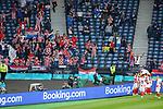 22.06.2021 Croatia v Scotland: Croatian fans celebrate goal no 2