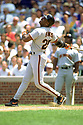 CHICAGO - CIRCA 1995:  Barry Bonds #25 of the San Francisco Giants bats during an MLB game at Wrigley Field in Chicago, Illinois. Bonds played for 22 seasons with 2 different teams, was a 14-time All-Star and was a 7-time National League MVP. (David Durochik / SportPics) --Barry Bonds