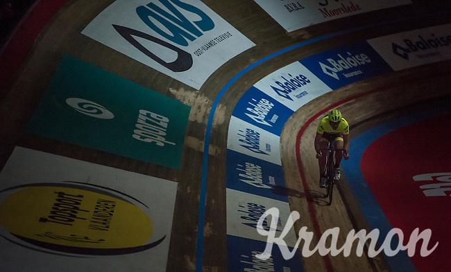 Fabian Cancellara (SUI/Trek-Segafredo)<br /> <br /> Ciao Fabian<br /> <br /> Farewell event in 't Kuipke in Gent/Belgium for Fabian Cancellara after retiring for pro racing (november 2016)