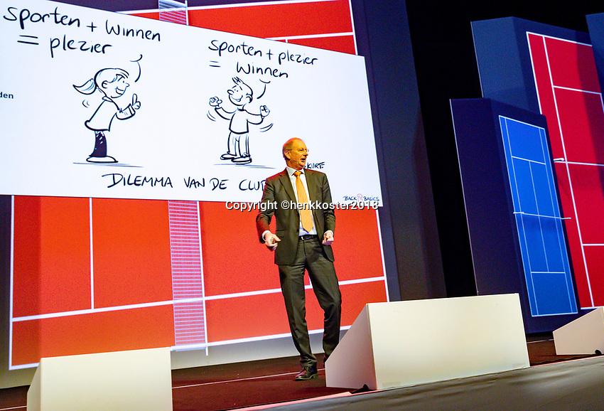 Nieuwegein,  Netherlands, 24 November 2018, KNLTB Year congress KNLTB, Berentd Rubingh<br /> Photo: Tennisimages.com/Henk Koster