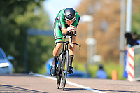 9th September 2021; Trento, Trentino–Alto Adige, Italy: 2021 UEC Road European Cycling Championships, Mens Individual time trials: MC DUNPHY Conn (IRL)