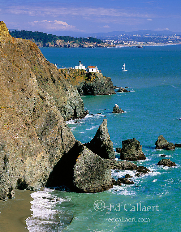 Point Bonita Lighthouse, Golden Gate National Recreation Area, Marin County, California