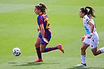 Liga IBERDROLA. Game 26.<br /> FC Barcelona vs RC Deportivo: 9-0.<br /> Lieke Martens vs Michelle Romero.