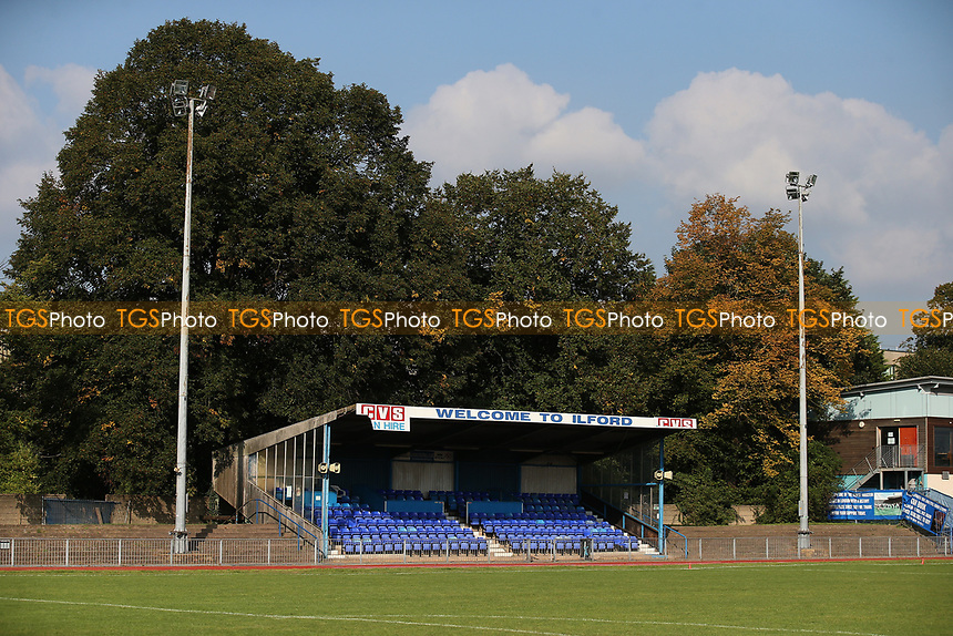 General view of the ground during Barkingside vs AFC Sudbury Reserves, Thurlow Nunn League Football at Cricklefields Stadium on 9th October 2021