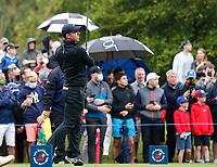 3rd July 2021; Mount Juliet Golf Club, Kilkenny, Ireland; Dubai Duty Free Irish Open Golf, Day Three; Rory Mcilroy of Northern Ireland tees off on the 6th hole