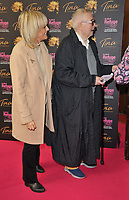 """Jane Moore and Christopher Biggins at the """"Tina: The Tina Turner Musical"""" Refuge gala performance, Aldwych Theatre, Aldwych, on Sunday 10th October 2021, in London, England, UK. <br /> CAP/CAN<br /> ©CAN/Capital Pictures"""