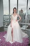 pamella roland Fall 2015 bridal collection model presentation