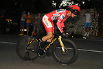 Olympic Champion Red Jersey Primoz Roglic (SLO) Jumbo-Visma on his way to winning Stage 21 and La Vuelta d'Espana 2021, an individual time trial running 33.8km from Padron to Santiago de Compostela, Spain. 5th September 2021.    <br /> Picture: Luis Angel Gomez/Photogomezsport | Cyclefile<br /> <br /> All photos usage must carry mandatory copyright credit (© Cyclefile | Luis Angel Gomez/Photogomezsport)
