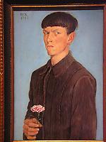 USA Detroit Institut of Art Arts Otto Dix autoritratto 1912