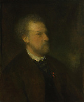 Full title: Portrait of a Man<br /> Artist: Louis-Gustave Ricard<br /> Date made: probably 1866