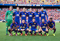 Landover, MD - July 29, 2014: Manchester United defeated Inter Milan 5-3 on penalty kicks during the Guinness International Champions Cup at FedEx Field.