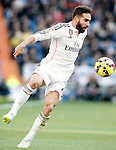 Real Madrid's Daniel Carvajal during La Liga match.January 31,2015. (ALTERPHOTOS/Acero)