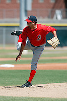 Tommy Mendoza - Los Angeles Angels - 2009 spring training.Photo by:  Bill Mitchell/Four Seam Images