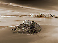 Low tide  pools at Bandon Beach, Oregon