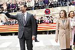Prince Felipe of Spain and Princess Letizia of Spain visit Alcaniz village on November 7, 2012 in Alcaniz, Teruel, Spain. (ALTERPHOTOS/Acero)