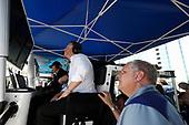 2017 IMSA WeatherTech SportsCar Championship<br /> BUBBA burger Sports Car Grand Prix at Long Beach<br /> Streets of Long Beach, CA USA<br /> Saturday 8 April 2017<br /> 86, Acura, Acura NSX, GTD, Michael Shank, Art St Cyr<br /> World Copyright: Michael L. Levitt<br /> LAT Images