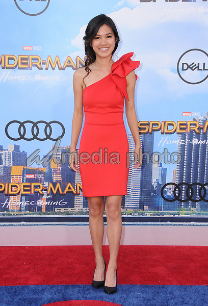 """28 June 2017 - Hollywood, California - Tiffany Espensen. """"Spider-Man: Homecoming"""" Los Angeles Premiere held at the TCL Chinese Theatre in Hollywood. Photo Credit: Birdie Thompson/AdMedia"""