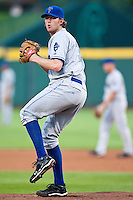 July 21, 2010 Greg Reynolds (39) in action during the MiLB game between the Tulsa Drillers and the Springfield Cardinals at Hammons Field in Springfield Missouri.  Tulsa won 5-3