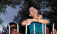 Aung San Suu Kyi after 1st house arrest