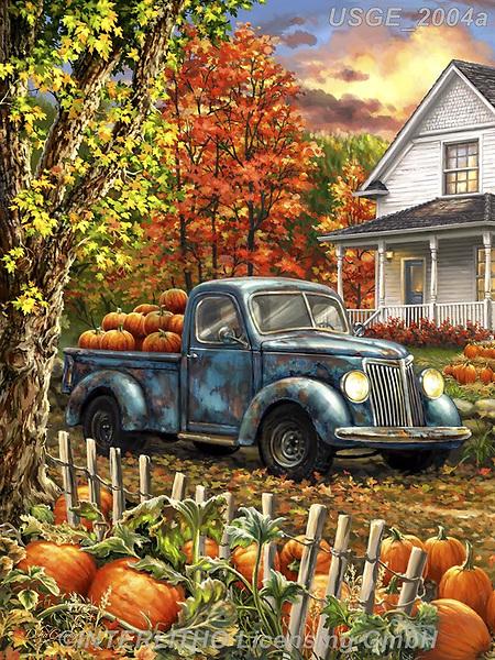 Dona Gelsinger, LANDSCAPES, LANDSCHAFTEN, PAISAJES, paintings+++++,USGE2004A,#l#, EVERYDAY
