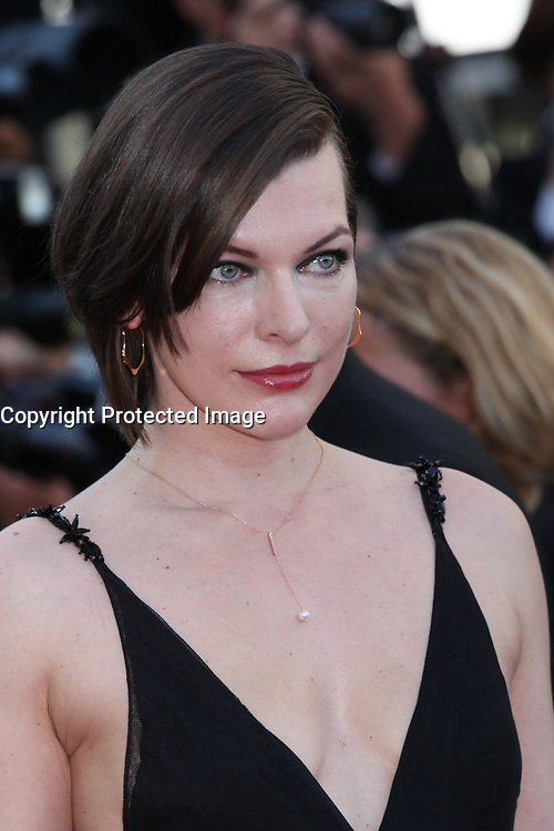 MILLA JOVOVICH - RED CARPET OF THE FILM 'THE LAST FACE' AT THE 69TH FESTIVAL OF CANNES 2016