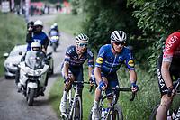 Yves Lampaert (BEL/Deceuninck-Quick Step)<br /> <br /> 17th Dwars Door Het Hageland 2021<br /> One Day Race: Aarschot – Diest 18Okm (UCI 1.Pro)<br /> Bingoal Cycling Cup 2021<br /> <br /> ©kramon